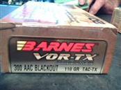 BARNES AMMO Ammunition VOR-TX AMMO